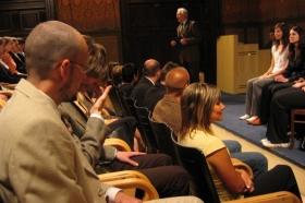 Předávání maturitních vysvědčení 2005-2006