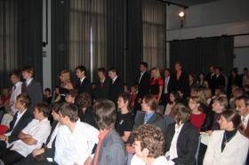 Předávání maturitních vysvědčení 2007-2008